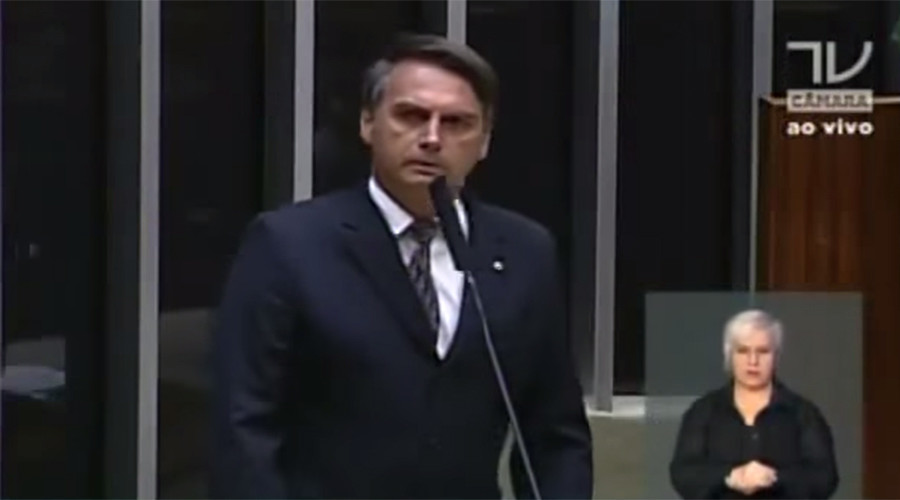 Brazillian MP fined $2,560 for telling 'ugly' colleague she was not 'worth raping'