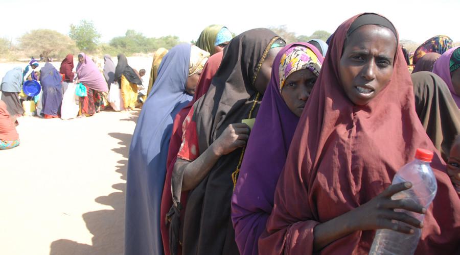 Somali refugees in Dadaab © Andre Vltchek