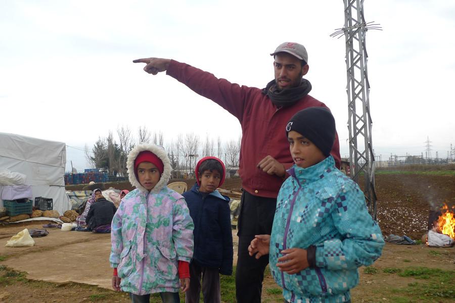 Syrian refugees Lebanon © Andre Vltchek