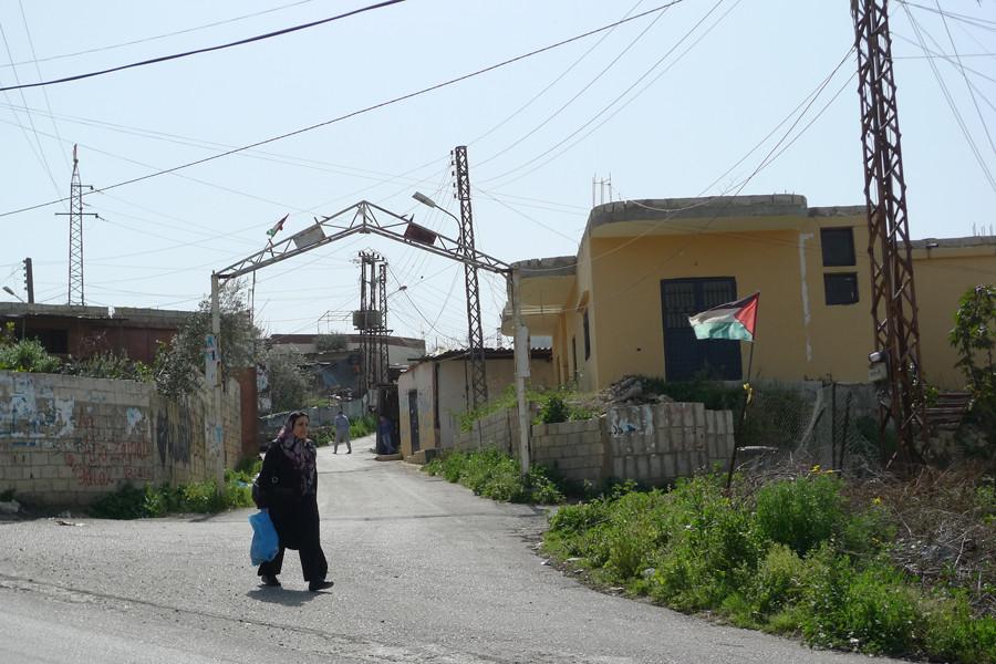 Palestinian camp in Lebanon © Andre Vltchek