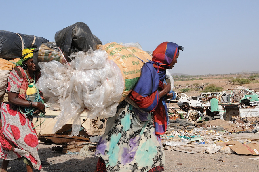 Somali refugees in Djibuti © Andre Vltchek