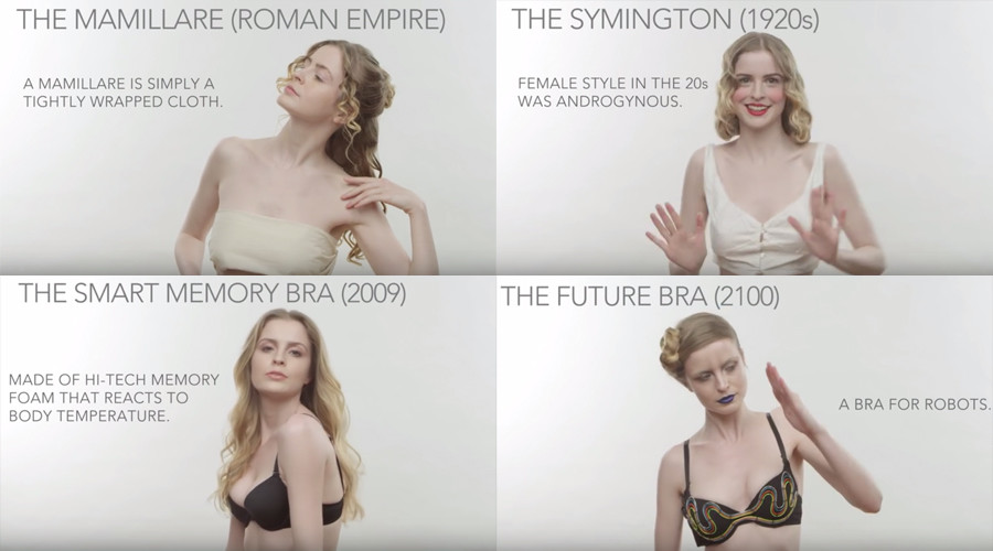 To protect & uphold: Bra evolution in one amazing video