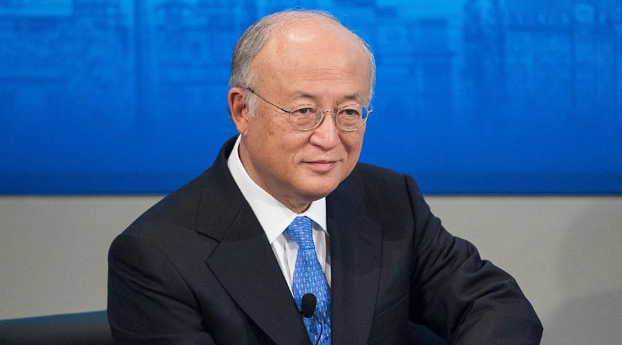 International Atomic Energy Agency (IAEA) Director General Yukiya Amano © Lukas Barth