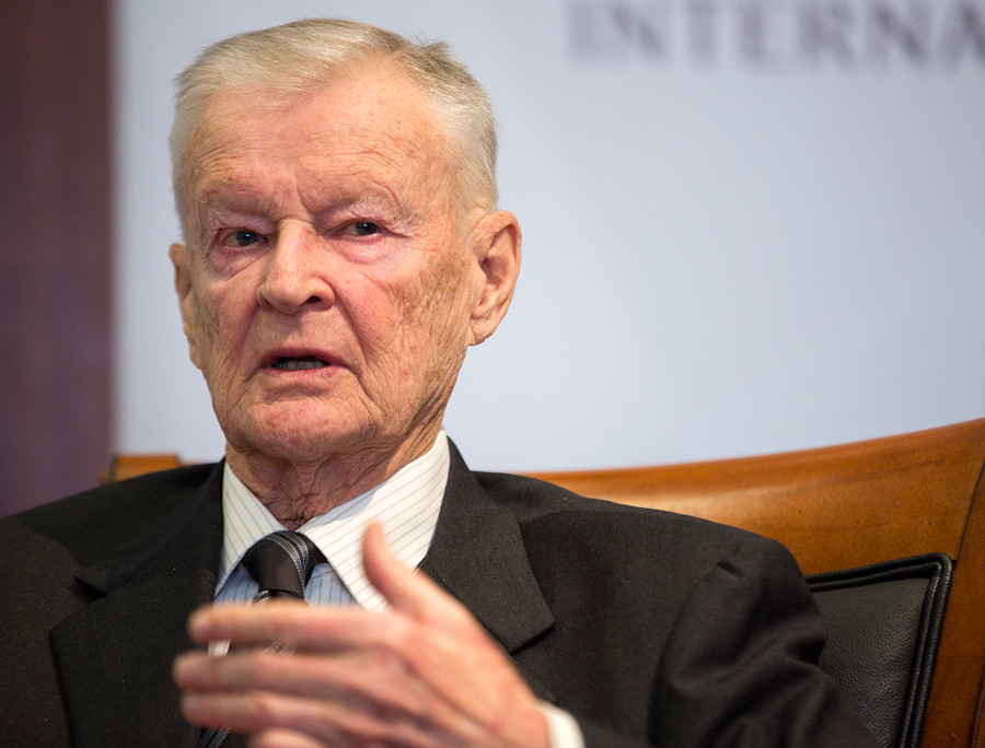 Former U.S. National Security Advisor Zbigniew Brzezinski © Joshua Roberts