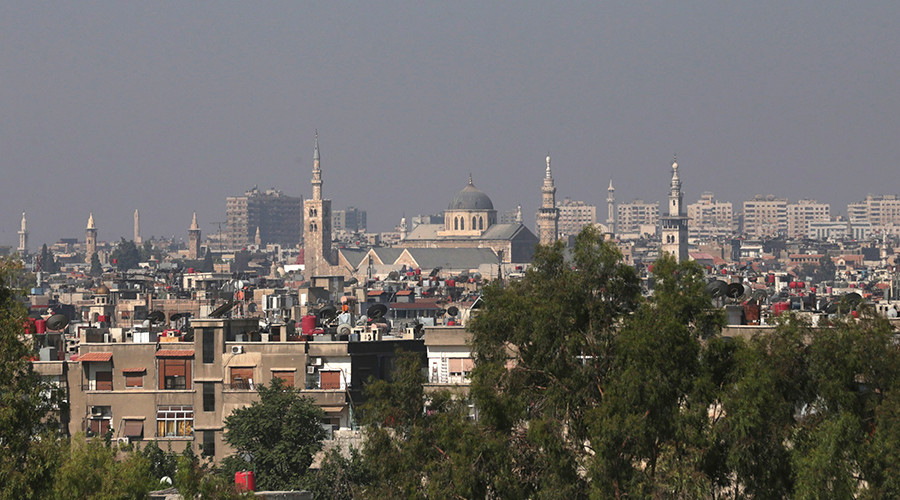 A general view shows the city of Damascus © Bassam Khabieh