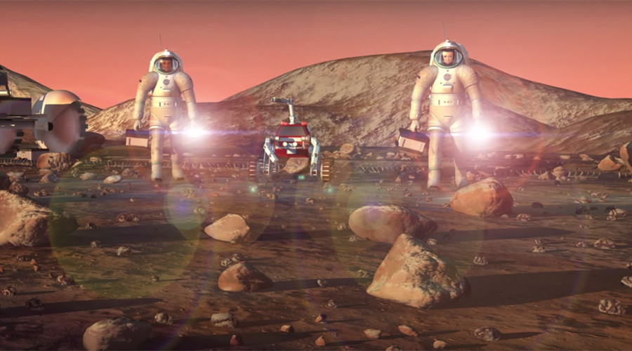 NASA's 'Mars Trek' could help find human landing sites on Red Planet