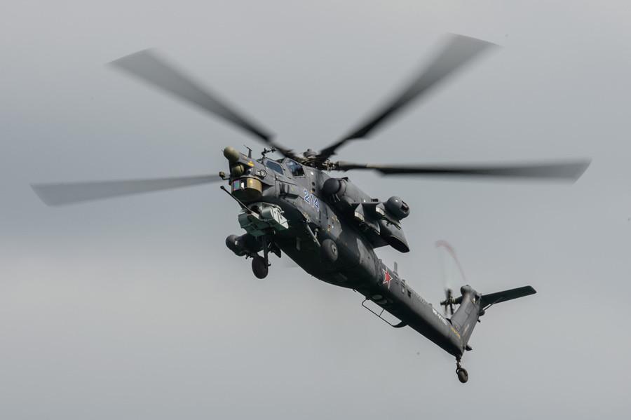 An Mi-28N helicopter © Mihail Mokrushin