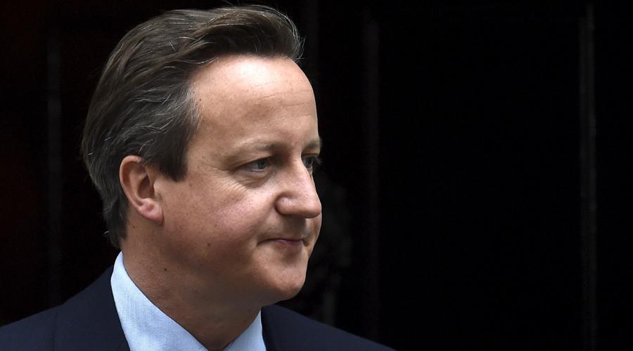 Britain's Prime Minister David Cameron © Toby Melvill