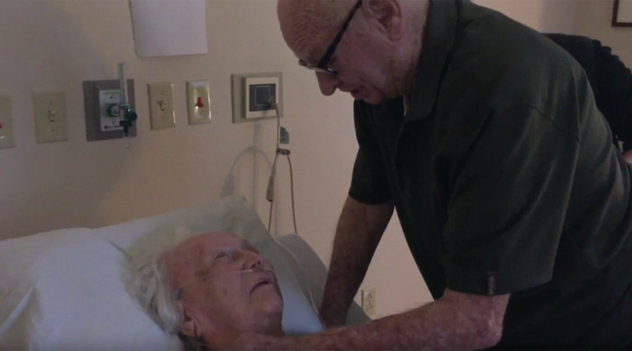 'I believe in love now': Video of 92yo man singing to dying wife goes viral