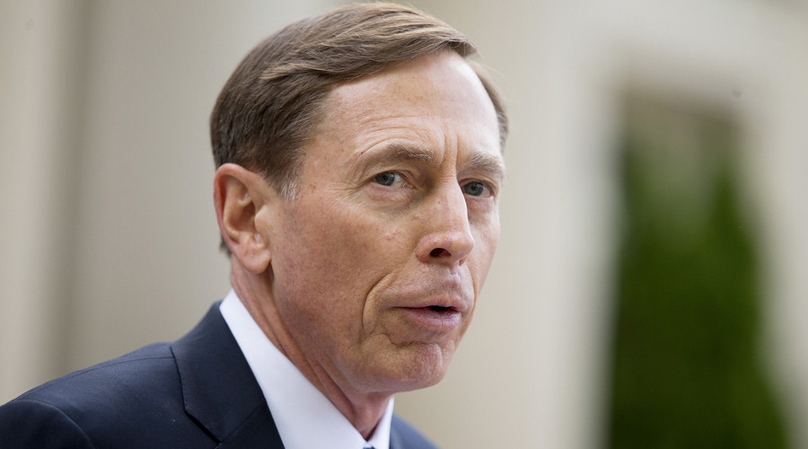 Former CIA director David Petraeus © Chris Keane