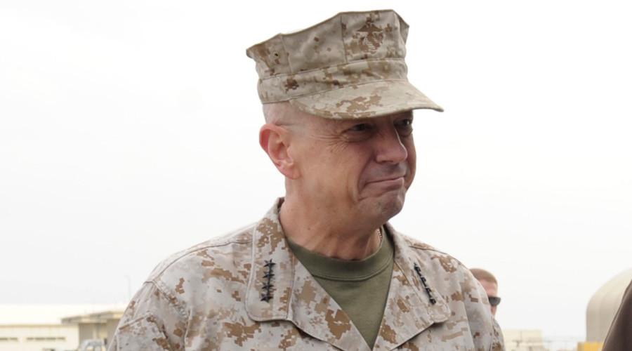 Marine General John R. Allen © Susan Walsh / Pool