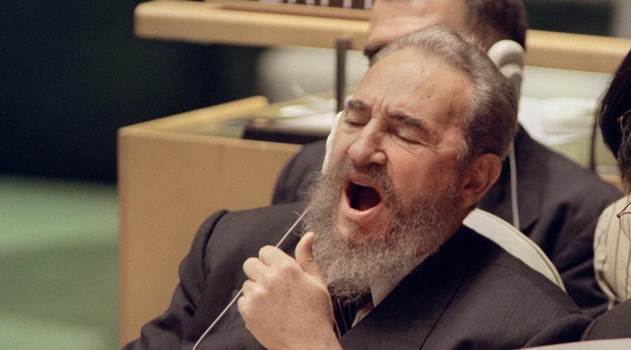 Fidel Castro © Bob Strong