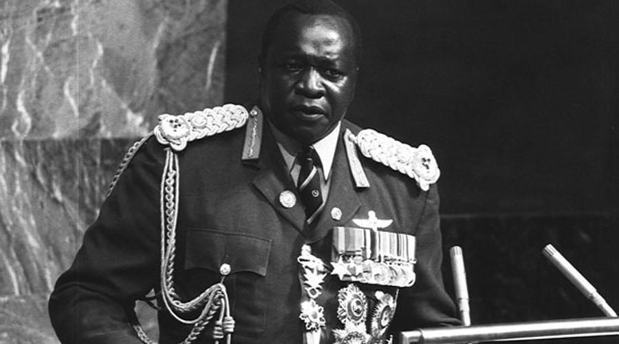 Former Ugandan dictator Idi Amin ©