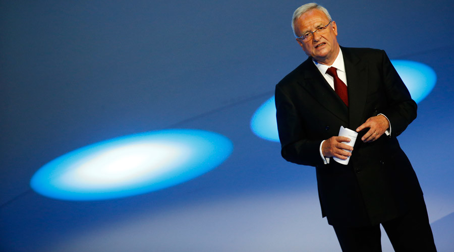 Volkswagen chief executive Martin Winterkorn resigns