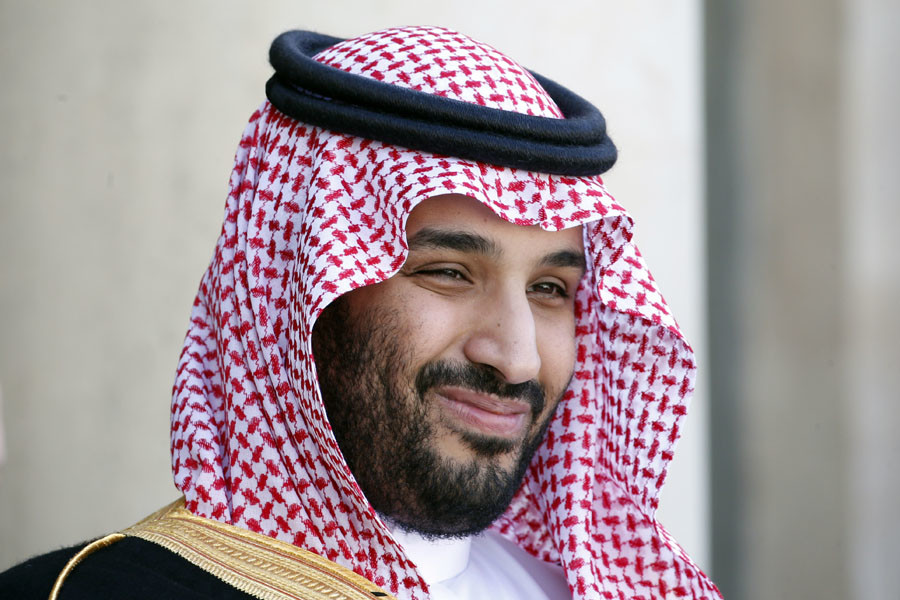 Saudi Arabia's Deputy Crown Prince Mohammed bin Salman. © Charles Platiau