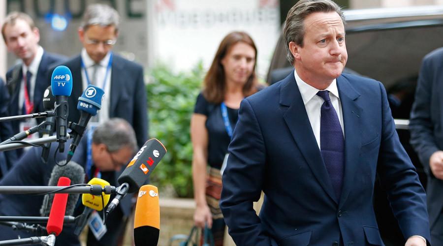 British Prime Minister David Cameron © Francois Lenoir