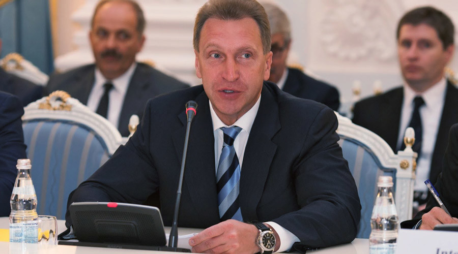 First Deputy Prime Minister of Russia Igor Shuvalov ©