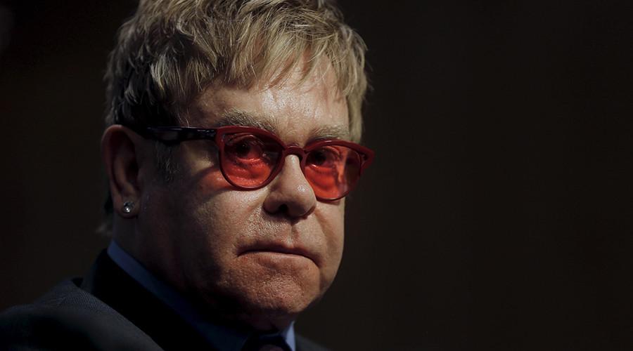 Singer Elton John © Carlos Barria