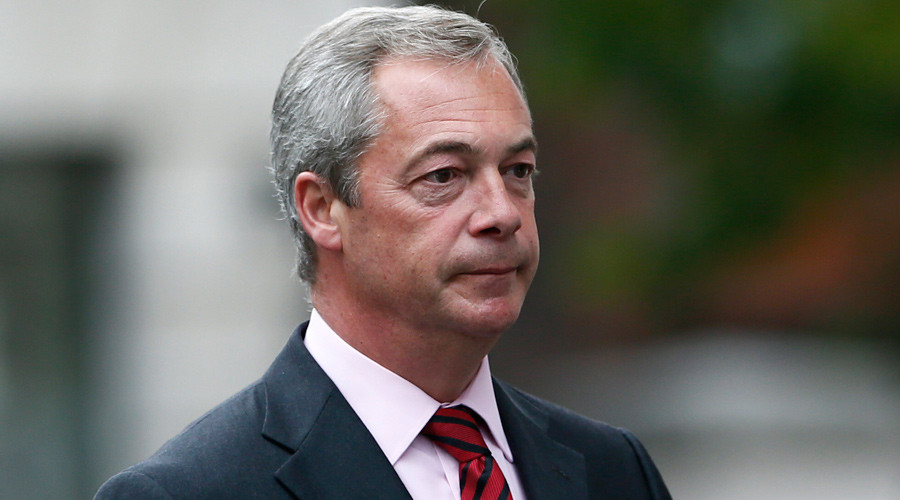 UKIP's Farage predicts 50/50 chance of 'Brexit'