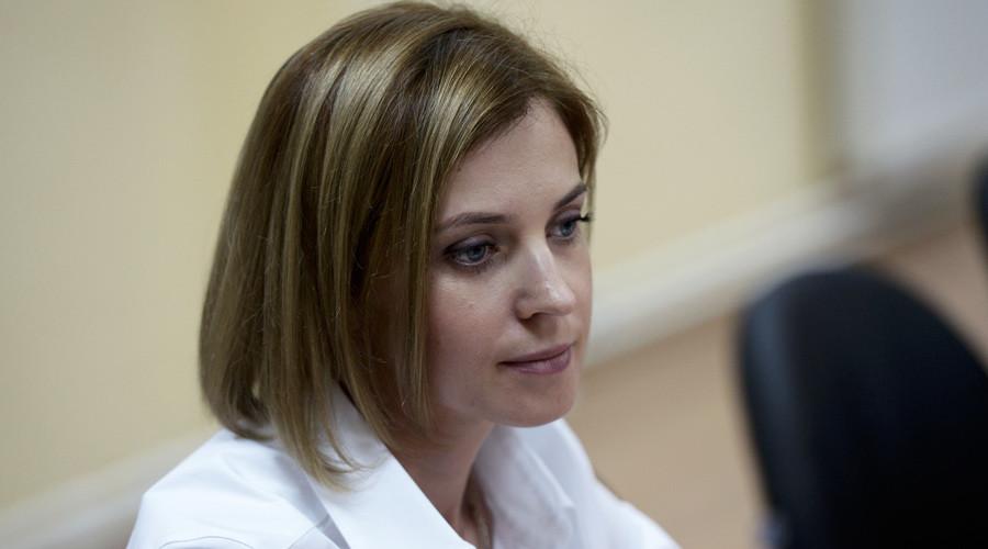 Crimea's General Prosecutor Natalia Poklonskaya © Aleksey Nikolskyi