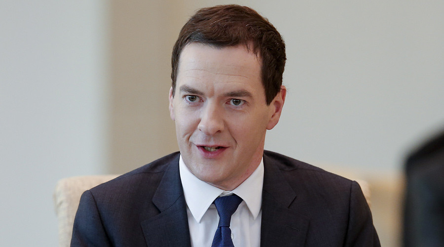 Britain's Chancellor of the Exchequer George Osborne © Lintao Zhang / Pool