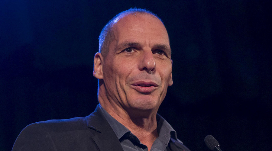 Former Greek Finance Minister Yanis Varoufakis © Neil Hall