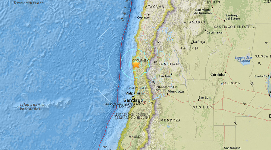 6.2 quake, aftershocks strike central Chile