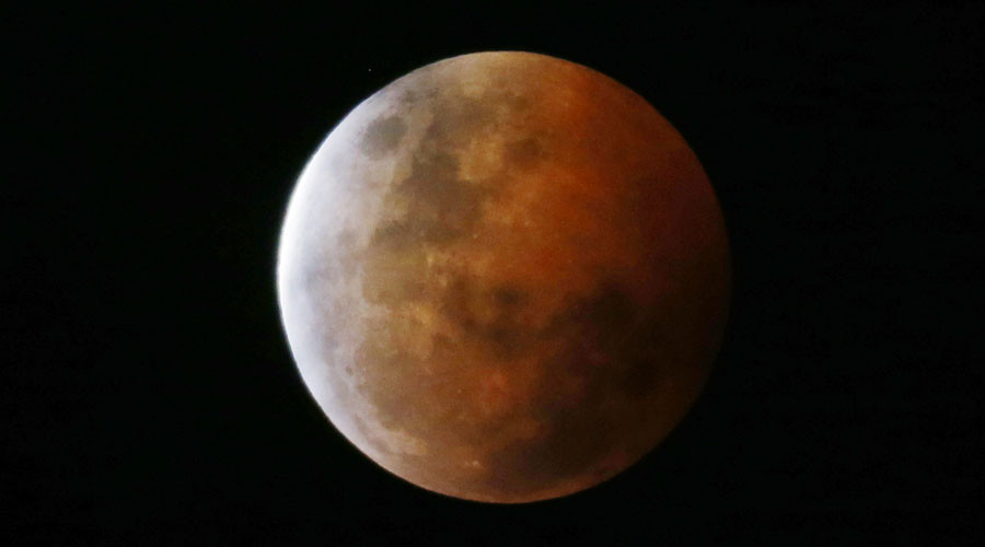 'Long & rare' total supermoon eclipse casts its shadow on Earth on Sunday night