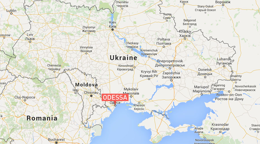 Powerful blast damages Ukrainian Security Service HQ in Odessa