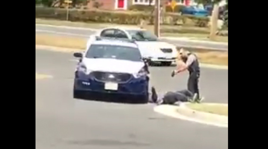 'He didn't see it coming': Outcry in Virginia as cop tasers man offering no resistance (VIDEO)