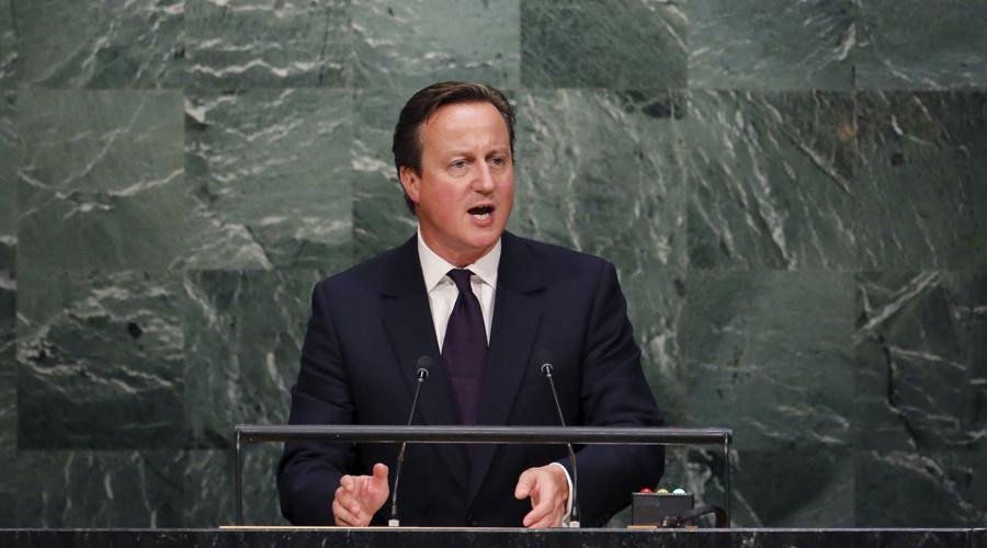 Britain's Prime Minister David Cameron © Carlo Allegri