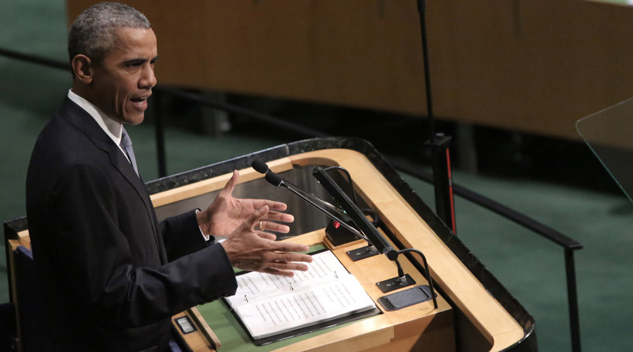 Obama to UN: US ready to work with Russia and Iran on Syria