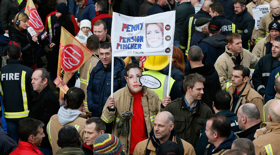 'UK's new strike laws like Nazi Germany' – union leader