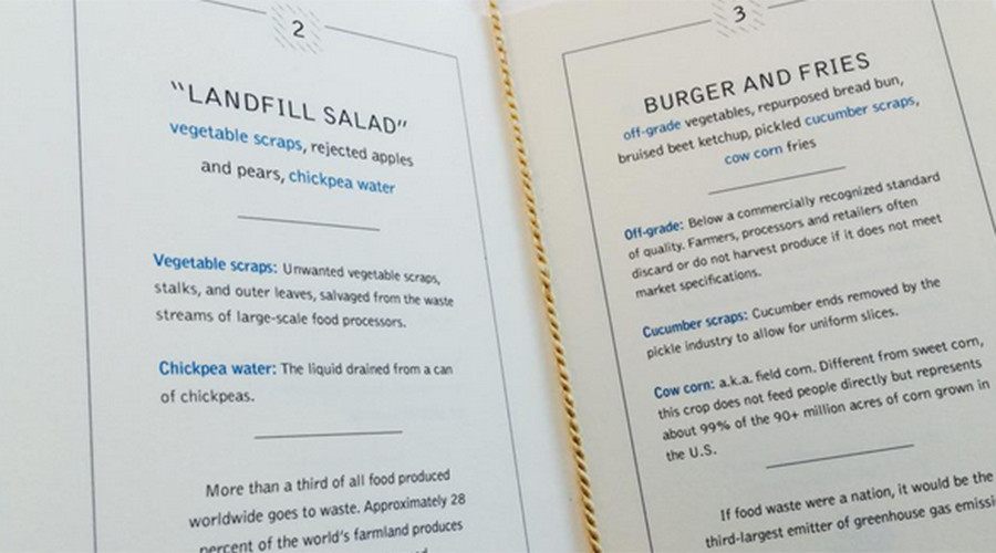 UN serves world leaders 'landfill salad' to highlight food waste