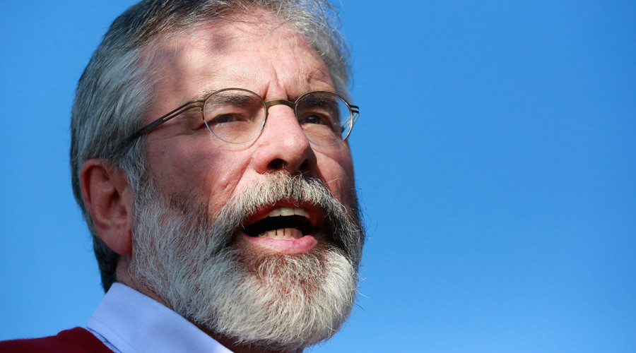 Sinn Fein leader Gerry Adams © Cathal McNaughton