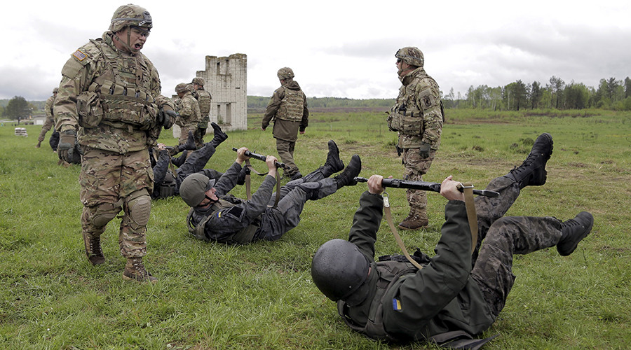Obama authorizes $20mn in 'non-lethal' military aid & training for Ukraine