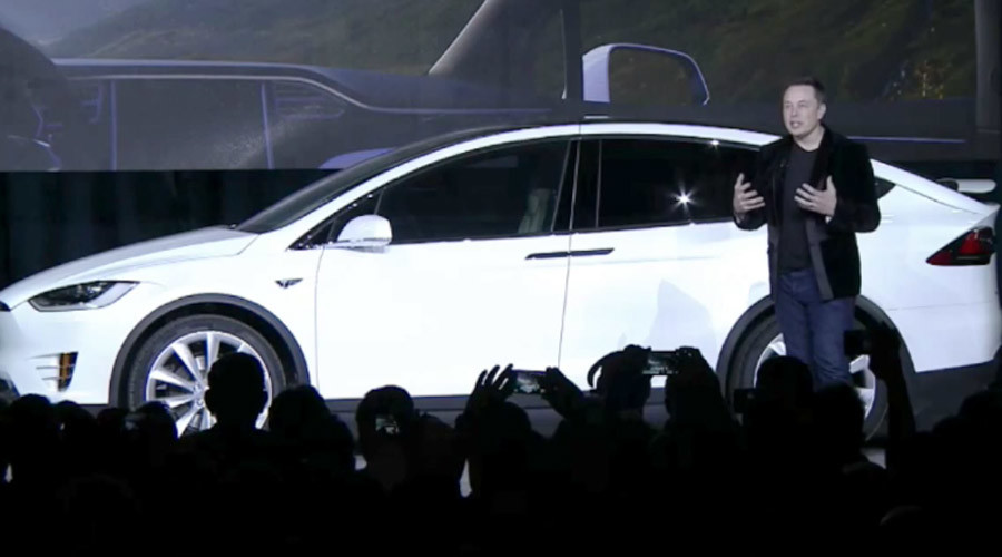 Elon Musk unveils Tesla Model X, his safest, most feature-packed vehicle yet