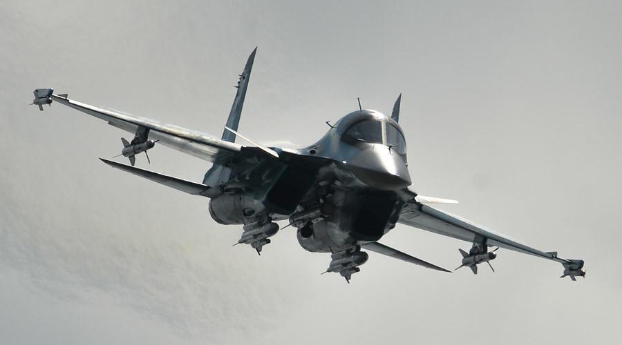 A Sukhoi-34 jet © Vladimir Astapkovich
