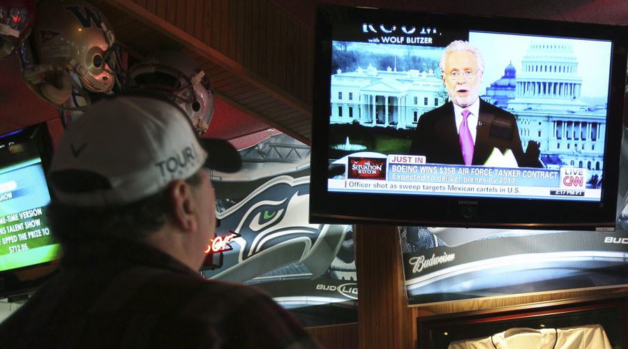 60 percent of Americans don't trust their mass media - poll