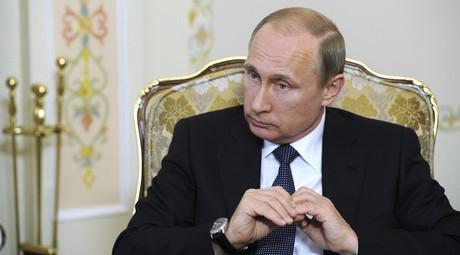 Russian President Vladimir Putin © Mikhail Klimentyev / RIA Novosti / Kremlin