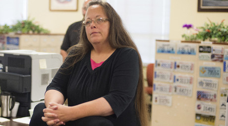 Kim Davis, the Rowan County Clerk of Courts. © Ty Wright