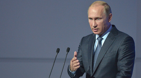 Russian President Vladimir Putin © Evgeny Byatov