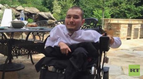 30-year-old Vladimir Spiridonov, head transplant candidate