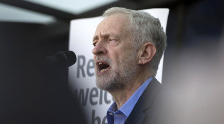 Jeremy Corbyn, the new leader of Britain's opposition Labour Party. © Neil Hall
