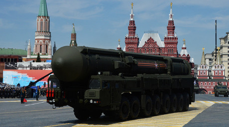 An RS-24 Yars/SS-27 Mod 2 solid-propellant intercontinental ballistic missile. © Vladimir Fedorenko