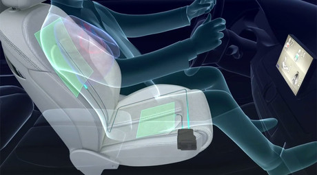 Driveby therapy: Smart car seat monitors driver stress, energy levels