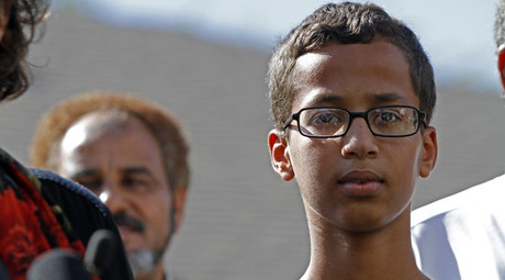 14-year-old Ahmed Ahmed Mohamed  ©Ben Torres
