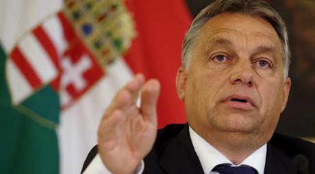 Hungary's Prime Minister Viktor Orban © Heinz-Peter Bader