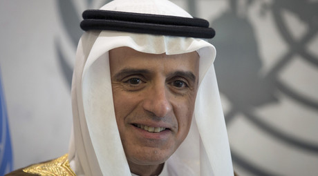 Foreign Minister of Saudi Arabia Adel Ahmed Al-Jubeir © Carlo Allegri