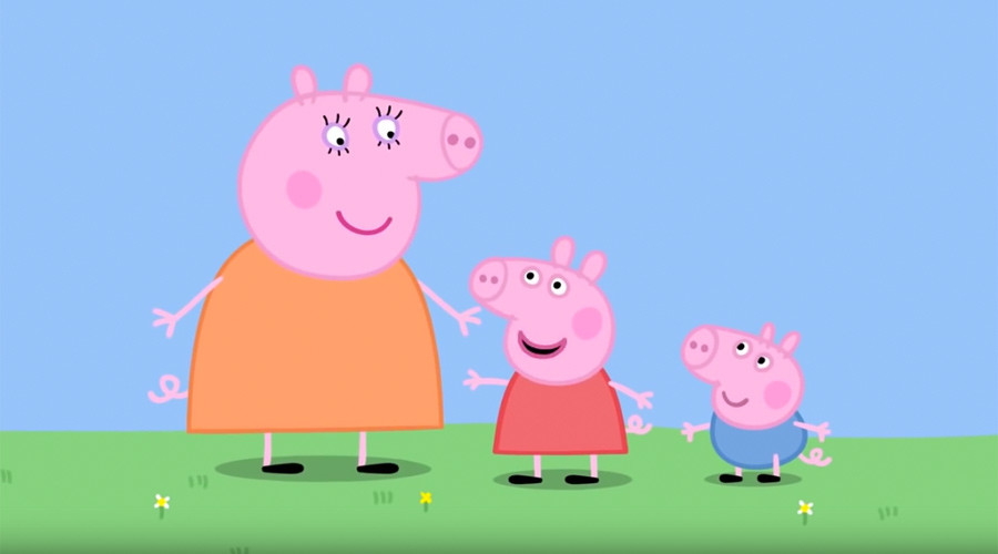 Peppa Pig will bring home the bacon